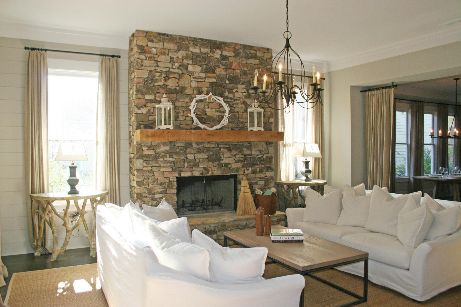 Stone And Wood Fireplace Prospect Ct Magic Masonry