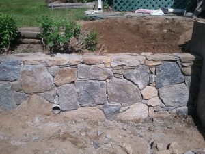 Stone walls Thomaston