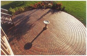 Getting Creative With Brick: Creative Brick Ideas On Patio