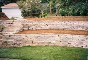 4 Tips To Building a Natural Stone Retaining Wall | Magic