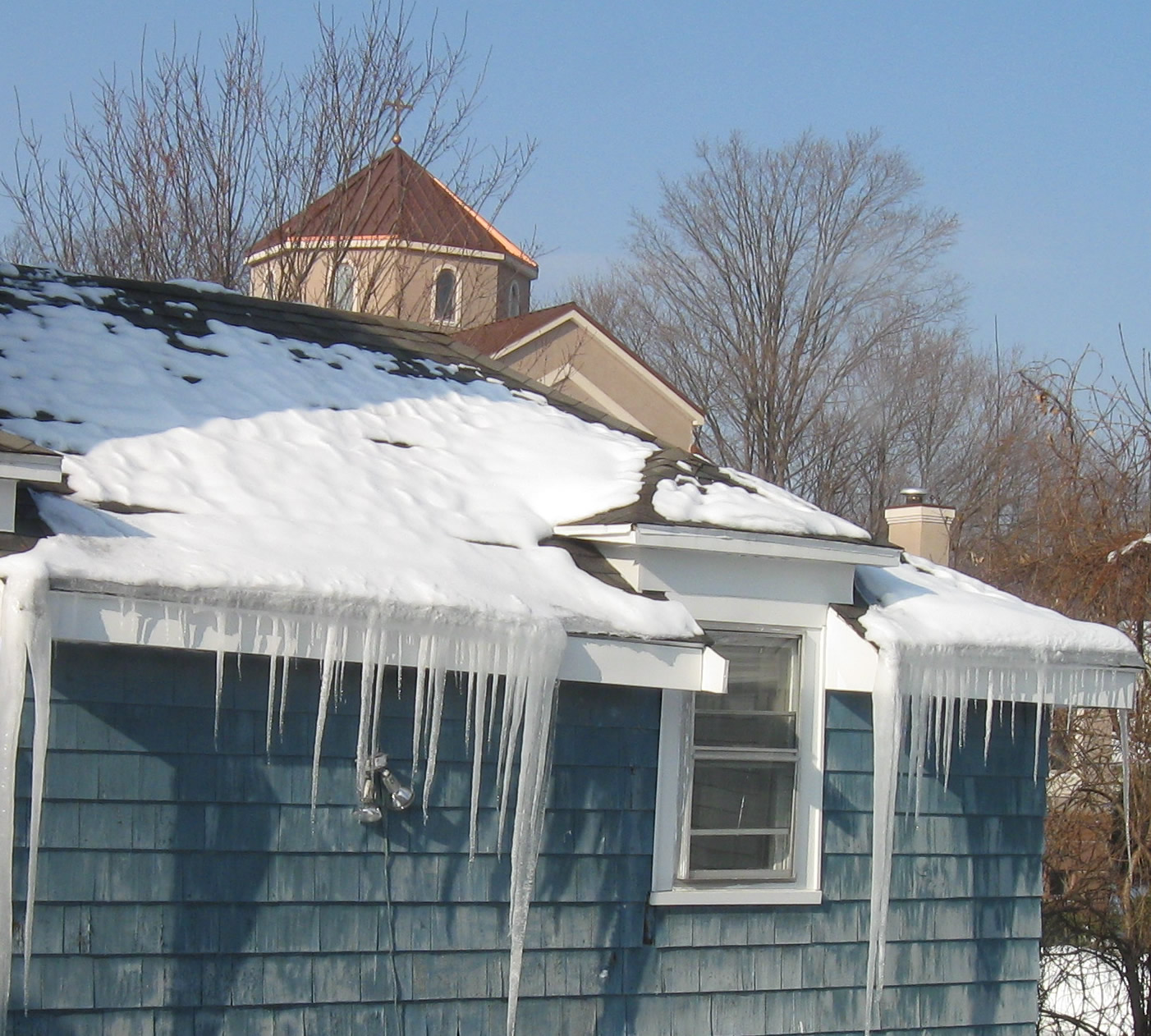 Advice Removing Ice Dams For Good Magic Masonry