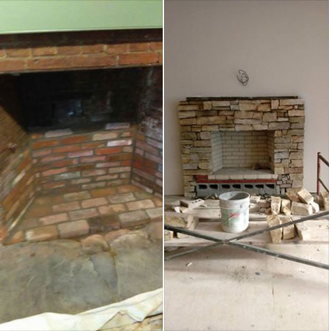 How To Repair Your Firebox And Update Your Fireplace Magic Masonry